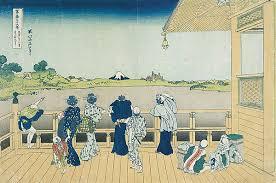 Il Saizado del tempio di Gohyaku-rakanji di Hokusai