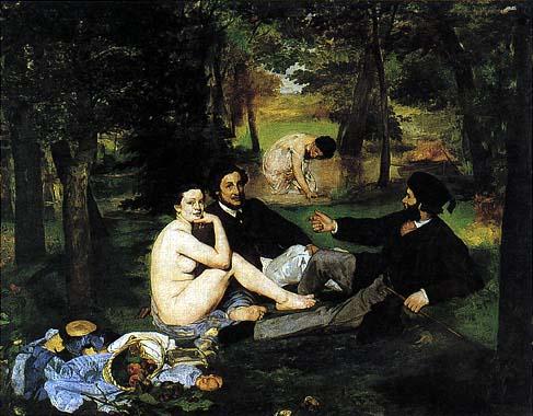 La Colazione sull'erba di Manet